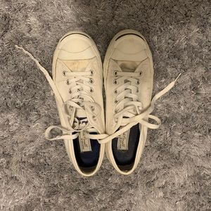 White jack purcell by converse 8.5Womens 7M